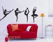 ballet dance Vinyl Home Wall Art Decal Sticker