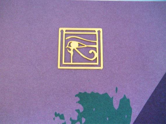 Egyptian Eye of Horus Bookmark