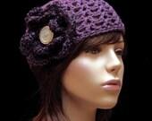 Handmade Hat Purple Passion
