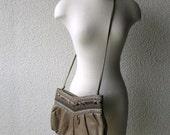 Vtg Snakeskin Bag/Clutch