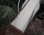 Sale Vintage  Dooney & Bourke Bags Purse Handbag Brown on Brown Stellar Condition with Hangtag