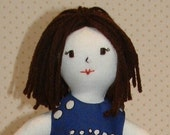 Blue Bubbles Fashion Doll by Lola B and Co.