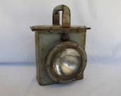 Vintage Delta Lantern Military Signal Light Man Cave Mantique