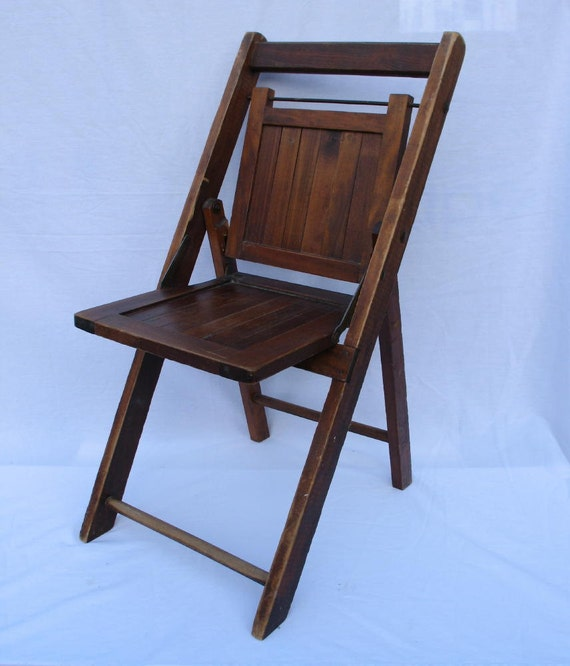 Antique Folding Chair Childs Sunday School Chair