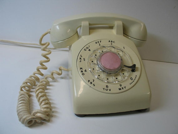 Vintage Western Electric Rotary Dial Telephone