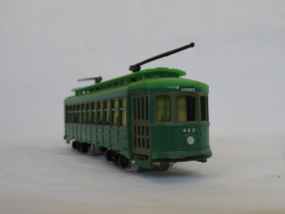 Trolley Car: Vintage Souvenir Trolley Cars Streetcar Named Desire And