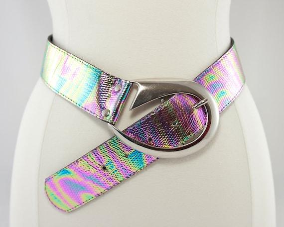 Disco Fever Irridescent Belt