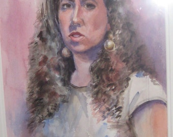 Custom Watercolor Portraits  from photos