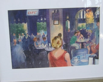 Custom Watercolor Painting from Photo