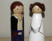 Han Solo and Princess Leia Bridal Couple