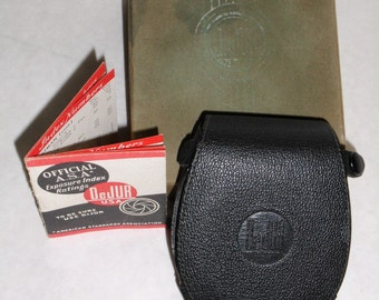 Not for Point and Shoot - Vintage Light Meter in Original Box with Instructions