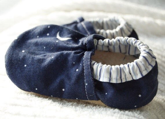 SALE Little Dipper Booties Size 12 to 18 Months Ready to Ship