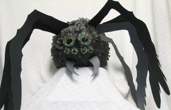 Pinata Spider Black Widow by SouthcastleCreations on Etsy