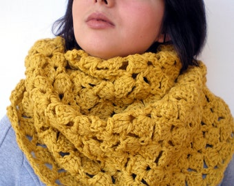 Mostard Yellow Fashion Circle Scarf Super Soft Circle Neckwarmer Woman ' Scarf NEW COLLECTION