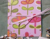 Fun Flowers, Mini-Mini Journal. Pocket sized amd perfectly cute