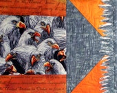Eagles Gather Quilted Wall Hanging