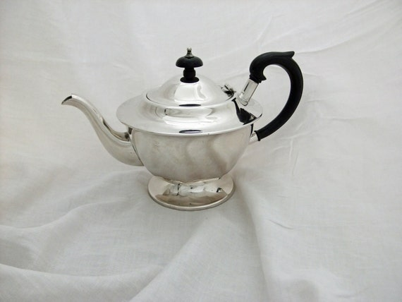 Vintage Silver Plated Teapot - EPNS Made in Sheffield, England