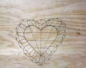 Heart  Wire  Basket