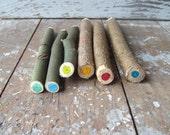 Twig Crayon Handmade