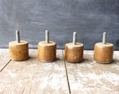 Mid Century Modern Furniture Legs Set of 4 FREE SHIPPING