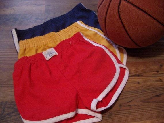 Vintage 70's Children's Gym Shorts Size 6-7