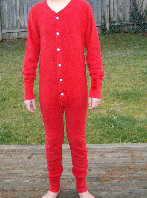 Cozy Red Long Johns