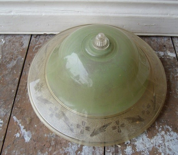 Cleveland Vintage Lighting Clip On Lampshade: Vintage Clip On Lamp Shade
