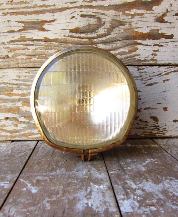 Rustic Suzuki Head Lamp