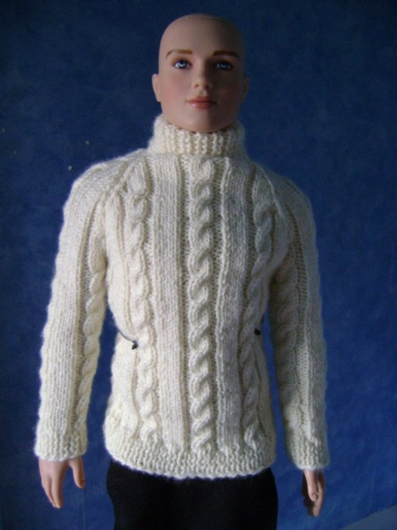26. Knitting pattern : Irish sweater for Peter Pervensie and Mortimer