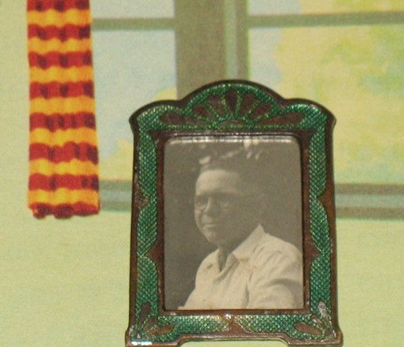 RESERVED for  larasnider Tiny Antique Picture Frame