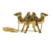 CamelCamel Necklace GOLD