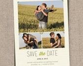 wedding / save the date / photo card / printable / diy