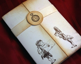 Save the Date - Alice in Wonderland invitation - Vintage Appearance