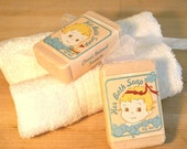 Vintage Style Guest Soap Baby