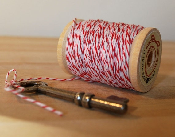 Wood Spool of Baker's Twine