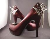 High Heel Platform Spiked Pump Women Shoes