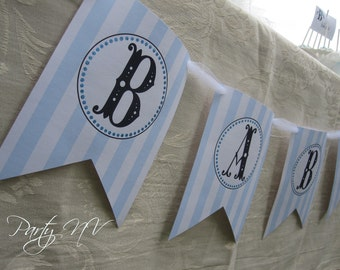 "PRINTABLE (""Welcome Baby"" Banner) - B is for BABY Collection"