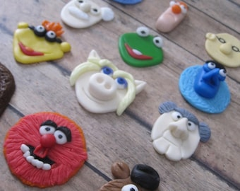 EDIBLE (Fondant Toppers) - Muppets Inspired