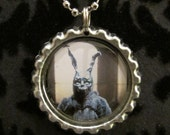 Donnie Darko Bottle Cap Necklace or Keychain (DARKO 103)