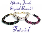 Glinting Jewels Crystal Bracelet Tutorial - Pdf