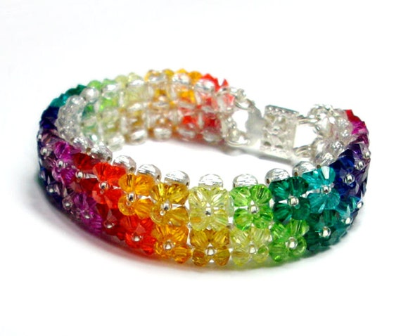 Swarovski Crystal Rainbow Bracelet