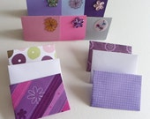 Thank you card set of six