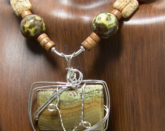 Mossy Riverbank Necklace