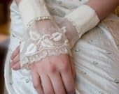 Wedding Cuffs Heirloom Edwardian Lace
