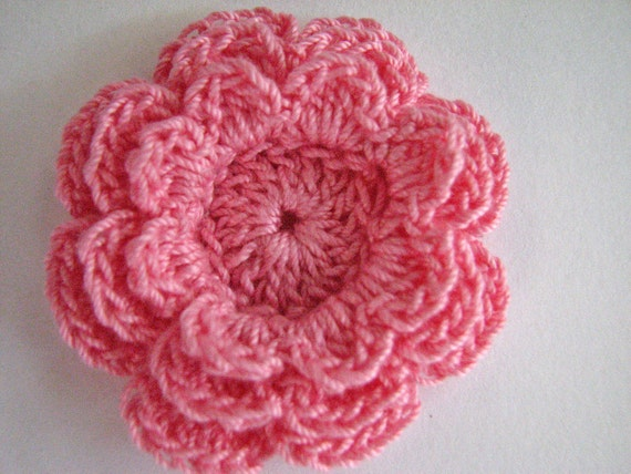 Crochet Layered Flower Pattern Free Dancox For