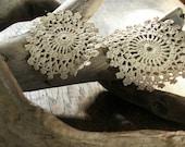 Intricate Snowflake Earrings