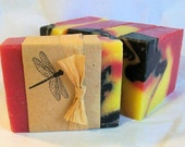 Sunset Fragrance Natural Olive Oil Soap an Awesome Floral - Organic ingredients