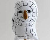 Löwe Stick-Puppet