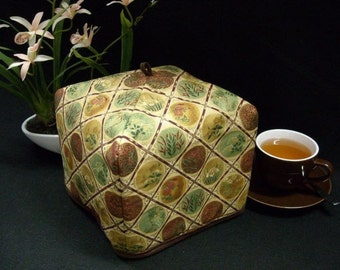 Tea Cozy - Imperial Gold (Standard - 4 to 8 Cup Teapots), Free Shipping - USA, Ships Worldwide