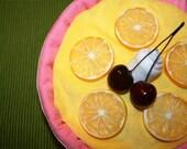 PIPER (TM)- Lemon Meringue- Diaper Pastry- Girl- Pink